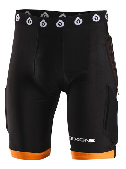 SixSixOne EVO Compression Short mit Sitzposter black